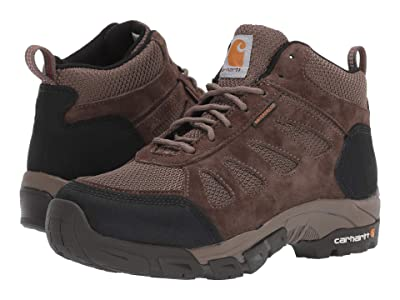 Carhartt 6 Lightweight Waterproof Work Hiker Non-Safety (Brown Leather) Women