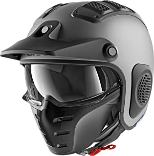 AHNNER Caschi Moto Vintage Harley Jet Open Face Elmetti D.O.T Omologati Moto Cruiser Pilot Pilot Crash 3//4 Mezzi Caschi con Occhiali Antiappannamento,M