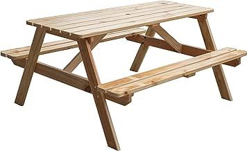 Best wooden garden table Reviews