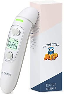 All Time Parents Digital Baby Thermometer – Instant Read Thermometer for Adults, Toddlers, & the Whole Family – Complete Your Baby First Aid Kit with Precise Ear and Forehead Thermometer Registry Gift