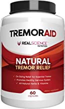 Tremoraid Natural Essential Tremor Relief Supplements - Effective And Powerful Help for Shaky Hands, Arm, Leg, Soothe Essential Tremors Pills (60 Capsules)
