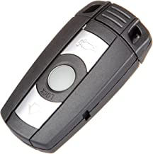 SCITOO Compatible 1PC Uncut keyless Smart Remote Key Fob 3 Buttons Replacement fit BMW 1 3 5 6 7 Series KR55WK491 w/Chip