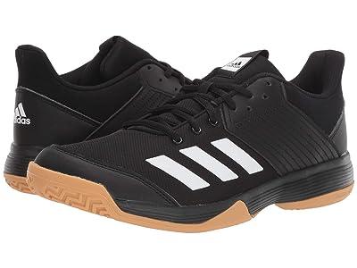 adidas Ligra 6 (Core Black/Footwear White/Gum M1) Women