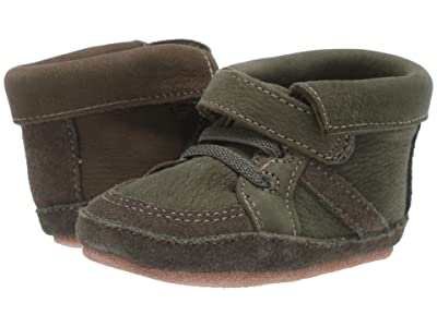 Robeez Grayson First Kicks (Infant/Toddler) (Olive) Boy
