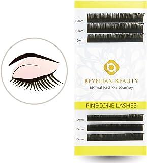 6df9cfb55c3 BEYELIAN Eyelash Extensions Dark Brown Lashes 0.15mm Thickness 10mm Eyelash  Extensions Professional Lash Extensions