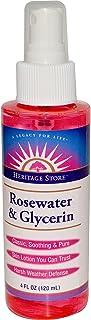 Heritage Store, Rosewater & Glycerin, Atomizer Mist Sprayer, 4 fl oz (120 ml)