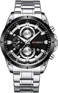 Andoer Men Watch Business Multifuntional Waterproof Watches Quartz Watch