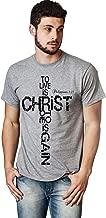 Living Water Men's Philippians 1:21 Christian T-Shirt Christ Cross Bible Black