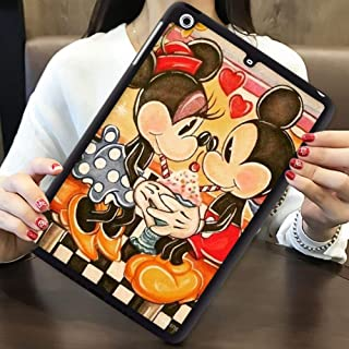 DISNEY COLLECTION Pad Case Fits for iPad Air [2013]   iPad 5 [2013] (9.7in) Miickey Mouse Summer Holiday on a Tropical Beach Desktop Wallpaper HD