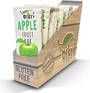 Oskri Bar, Apple Fruit, 12 Count