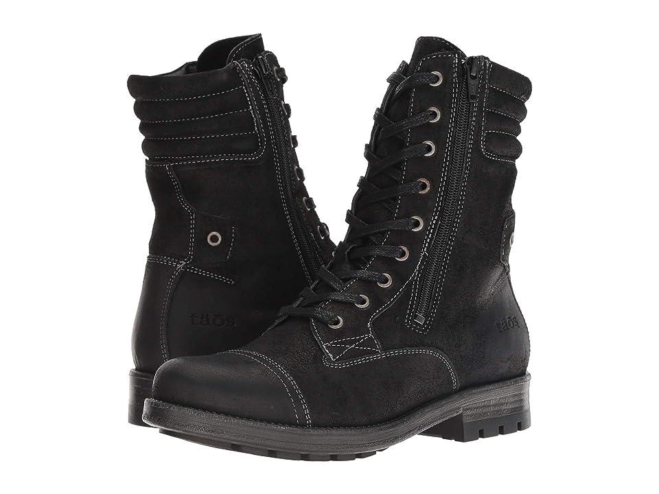 Taos Footwear Renegade (Black Rugged) Women