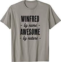 WINFRED by Name - Awesome by Nature | Funny and Cute Gift