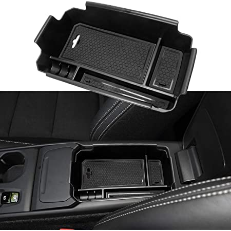 Mling Mittelkonsole Armlehnen Mittelarmlehne Aufbewahrungsbox Kompatibel Für Xc40 2018 2019 Auto