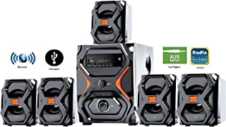 IKALL IK-222 BT 5.1 Channel Home Theater Music System (Black)
