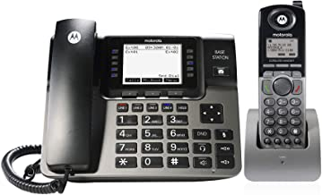 $171 » Motorola ML1250 DECT 6.0 Expandable 1 to 4 Lines Business Phone System with Voicemail, Digital Receptionist and Music on H...
