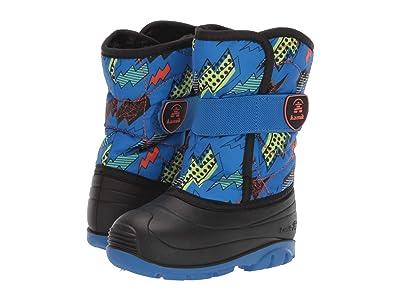 Kamik Kids Snowbug 4 (Toddler) (Blue/Orange) Boys Shoes