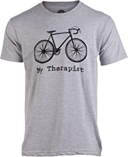 My Therapist (Bicycle) | Funny Bike Riding Rider Cycling Cyclist Man T-Shirt
