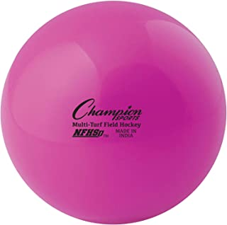 Champion Sports NFHS Approved Official Field Hockey Game Balls - 12 Pack in Multiple Colors