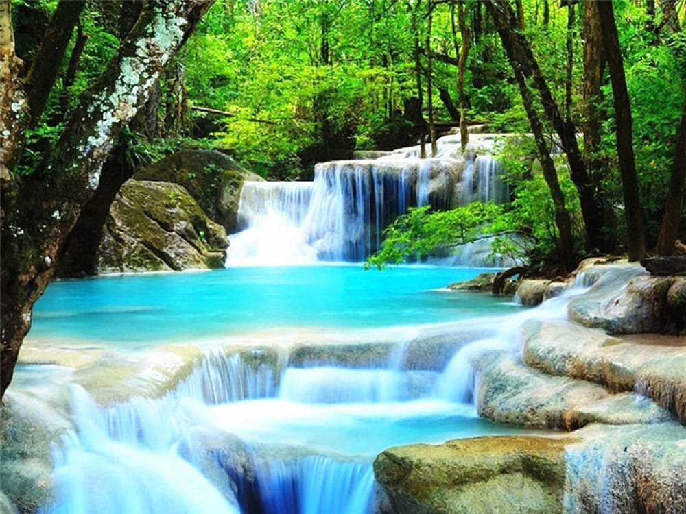 1000 Piece Puzzle waterfall-2000Inspirational K Max 48% OFF for Sales Floor