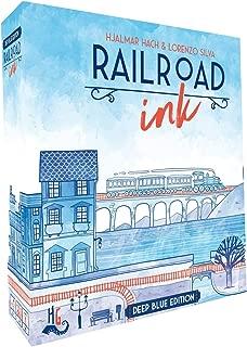 CMON RRI001 Railroad Ink: Deep Blue Edition (Renewed)