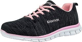 comprar comparacion Knixmax-Zapatillas Deportivas para Mujer, Zapatillas de Running Fitness Sneakers Zapatos de Correr Aire Libre Deportes Cas...