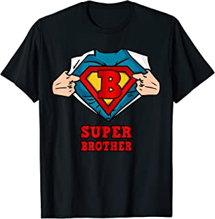 Super Brother Superhero Shirt - Great gift from sister