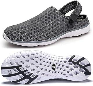 Mens Womens Breathable Mesh Beach Sandals Shoes Breathable Mesh Sandals Indoor Outdoor Slippers Anti Slip