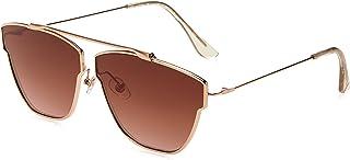 Item 8 Sm.6 Aviator Rose Gold Women's Designer Sunglasses by Foster Grant