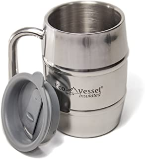 Best double walled stainless steel coffee mug Reviews