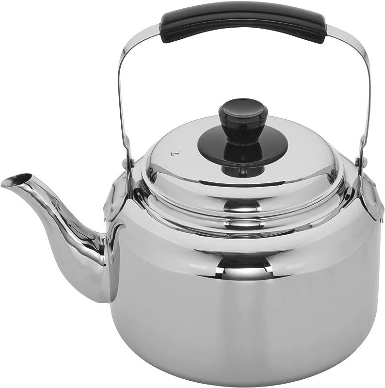 Demeyere 10106 RESTO Stainless Steel Tea Kettle 6 3 Qt