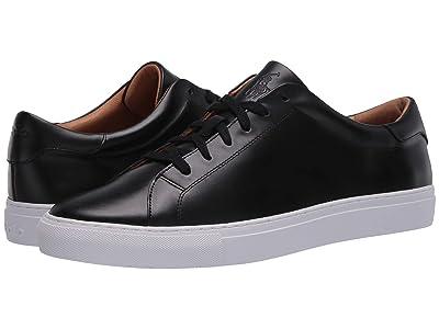 Polo Ralph Lauren Jermain II (Black Cloudy Leather) Men