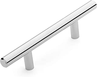 Dynasty Hardware P-80602-SN-25PK Arched Cabinet Hardware Pulls 25 Pack Satin Nickel