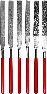 SE 74330DF 6-Piece Flat Diamond Grit File Set