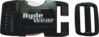 Black Metal Strongest Motorcycle Dirt Bike Helmet Quick Release Helmets Chin Strap Buckle