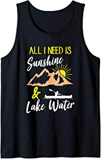 All I Need Is Sunshine & Lake Water Lake Tank Top