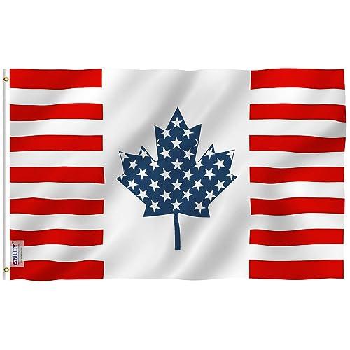 Canadian Flag: Amazon com
