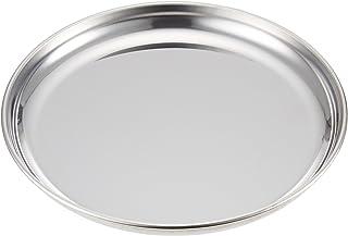サンダイヤ ステンレス丸皿 浅型 200φmm