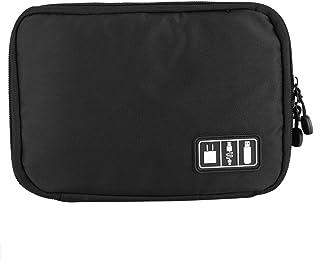 Fdit Portable Cable Organizer, Digital Devices USB Écouteur Fil Organisateur Sac Sac de Rangement de Câble pour Voyage Acc...