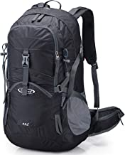 G4Free Hiking Travel Backpack Women 45L Camping Daypack Outdoor with Rain Cover