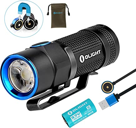 Olight S1R baton DEL Rechargeable Torche Lampe de poche EDC avec Turbo et Turbo S,
