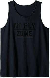 No Fly Zone Football Defense TShirt Tank Top