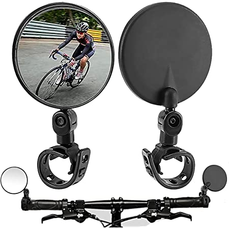 MTB Mountain Bike Rearview Mirror Bicycle Handlebar Convex Rear View Mirror