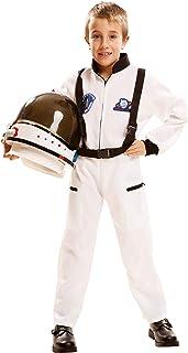 My Other Me Me-202084 Disfraz de astronauta, color blanco, 7-9 años (Viving Costumes 202084)