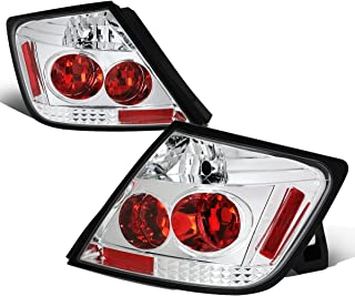 For 2005-2010 Scion tC Pair Chrome Housing Altezza Style Tail Light Brake/Parking/Reverse Lamps