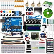 KOOKYE Universal Starter Kits for Arduino, NodeMCU IoT (ESP8266 WiFi Modules Not Included),Graphical Programming