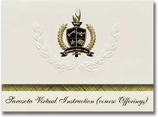 Signature Announcements Sarasota Virtual Instruction (course Offerings) (Sarasota, FL) Graduation Announcements, President...
