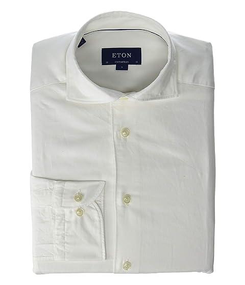 Eton Contemporary Fit Brera Silk Solid