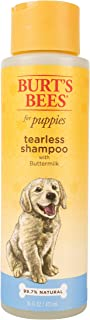 Burt's Bees for Dogs All-Natural Tearless Puppy Shampoo with Buttermilk | Best Tear-Free Shampoo For All Dogs and Puppies For Gentle Fur