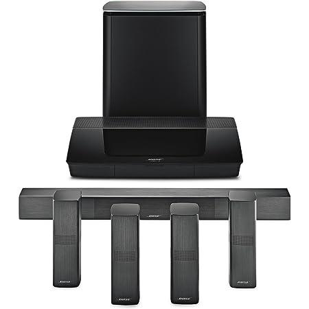 Bose Lifestyle 650 Sistema de Entretenimiento Doméstico, Dolby Digital Plus 5.1, Color Negro, 761683-1110