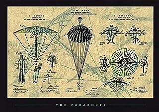 ملصق مطبوع عليه براءة اختراع The Parachute 36x24 تصميم Paraphernalia